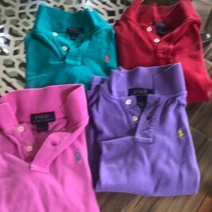 Ralph Lauren Polo used boys polo shirts